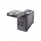 Dual USB forsyning 12/24V 4.8A