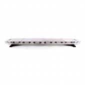 LED-Bro 121cm Gul / Klart glas