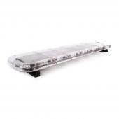 LED-Bro 138cm Gul / Klart glas
