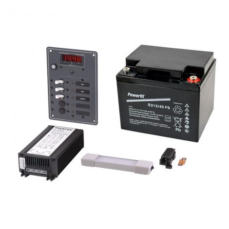 GMDSS A1 Strømforsyning