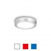 LED Downlight. Rød, blå, hvid