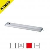 Vejrtæt lavprofil LED armatur
