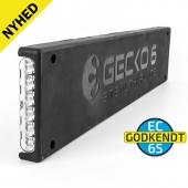 Gecko6 nummerplade base - GUL EC65