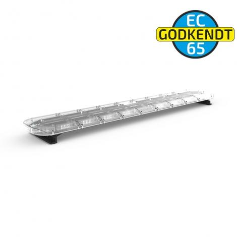 LED-Bro 171cm Gul / Klart glas