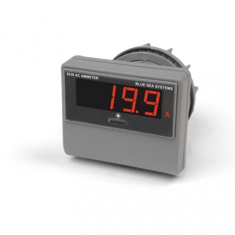 AC Amperemeter med LED display