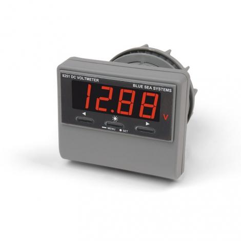 DC Voltmeter med LED display