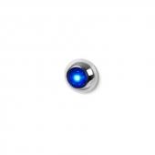 LED Knaplys Blå