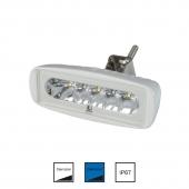 LED Dækslys Hvid/Blå