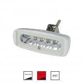 LED Dækslys Hvid/Rød
