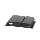 2-kanals SD-kort optager