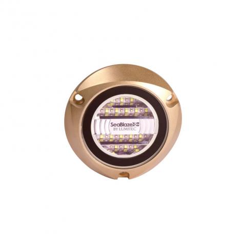 LED Undervandslampe Hvid/Blå