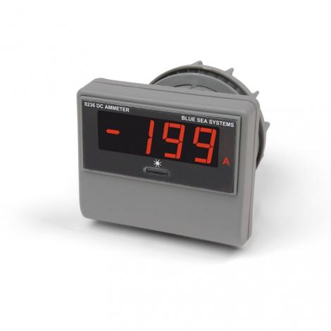 DC Amperemeter med LED display