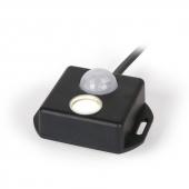 PIR sensor og lampe