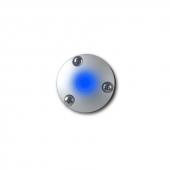 LED Downlight Blå
