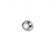 LED Knaplys Hvid